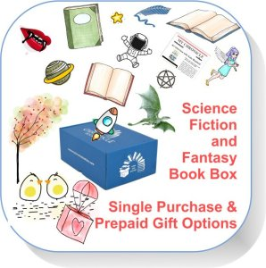 Single purchase Book Box Science Fiction and Fantasy button