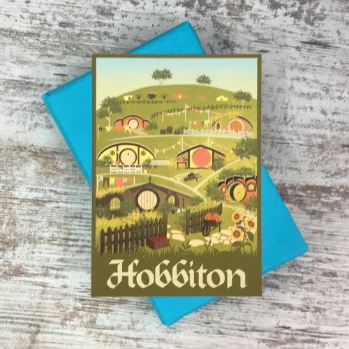 Book Cosy Special Edition Book Box (34) Hobbiton Print
