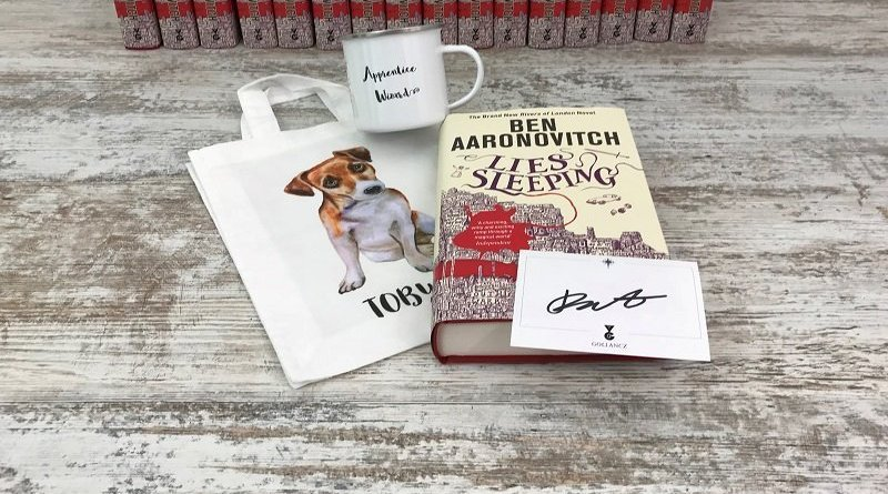Rivers of London - Book box special - Lies Sleeping - Ben Aaronovitch - book review