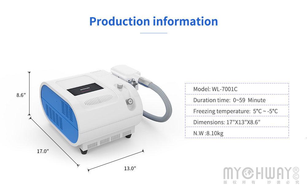 fat freezing cooling machine