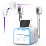 Double Handles Cooling Systerm Cellulite Removal Equipment