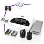 New Fir Belt LCD Ionic Detox Ion Foot Spa Cleanse Machine