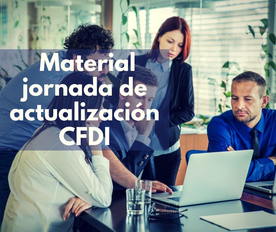 Material de jornadas de orientación sobre el CFDI 3.3