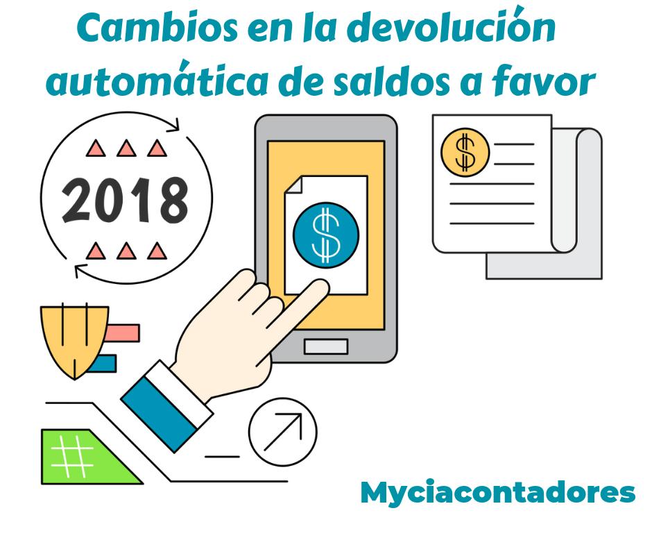 Modificaciones a la devolución automática de Saldos a favor en la declaración anual de personas físicas