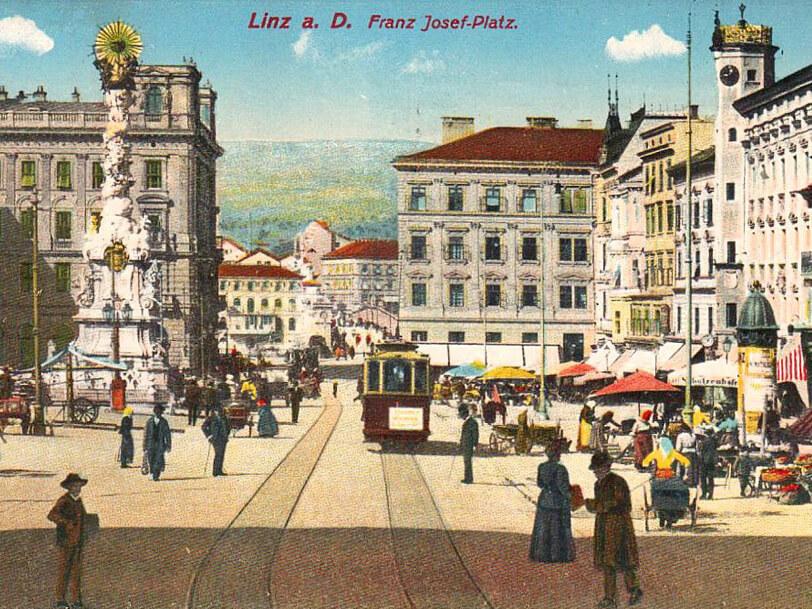 My City Guide Hauptplatz einst