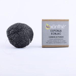 exfoliante facial de carbón activado