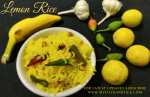 Lemon rice / Elumichai Sadam recipe