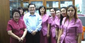 2006年7月12日赴印尼棉兰<br />苏东牧学校集团与中小学高中<br />华文老师分享汉语教学法