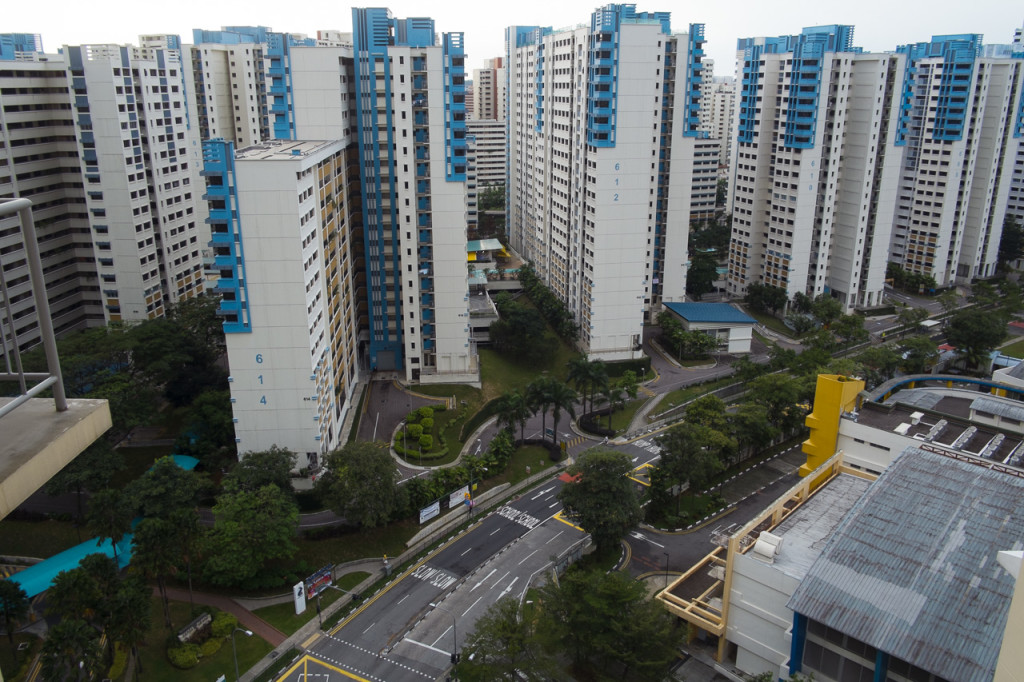 新加坡组屋转售交易量2015年12月下滑4.3%