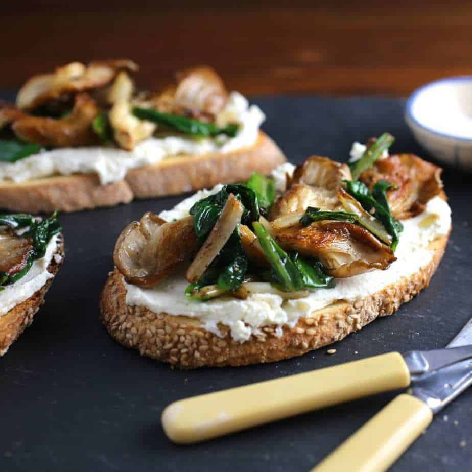 Sautéed Oyster Mushrooms