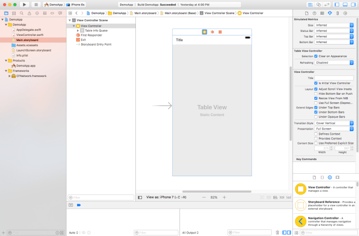 Overview of the Project Navigator in Xcode - MyCodeTips