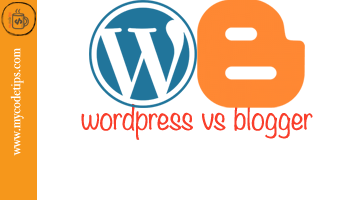WordPress vs Blogger – Key Points with Pros and Cons
