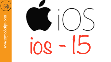 What's New in the iOS 15?