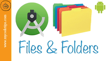 Android Application File Structure