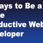 Productive Web Developer