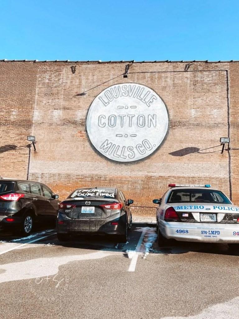 Germantown Lofts Mural - Louisville Cotton Mills Co Mural - Louisville Murals
