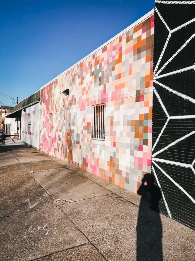 Pixels Mural Louisville Murals