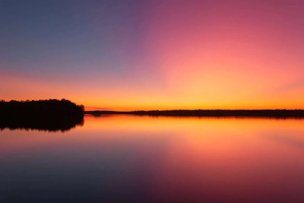 Best sunsets in the US, prettiest sunsets in the US, sunsets in Wisconsin