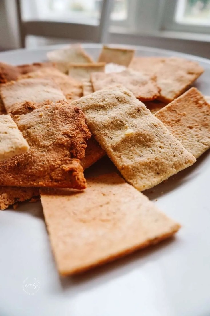 Keto Crackers for Dipping