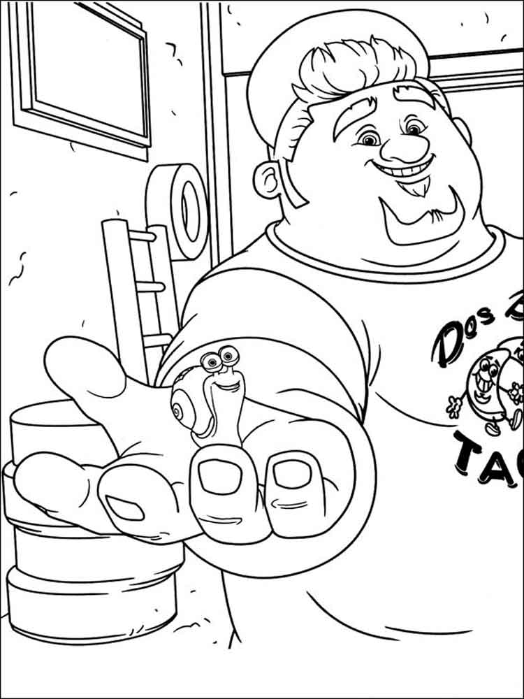dreamworks turbo coloring pages. free printable dreamworks