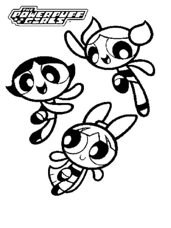 power puff girls coloring pages # 63