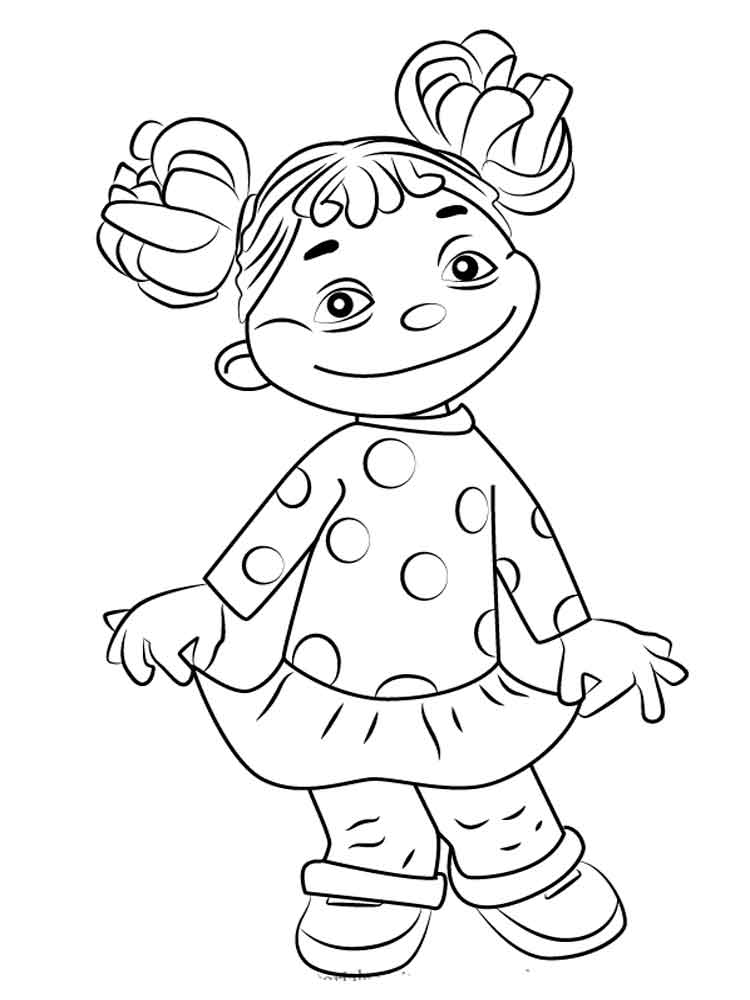 Sid The Science Kid Coloring Pages Free Printable Sid The
