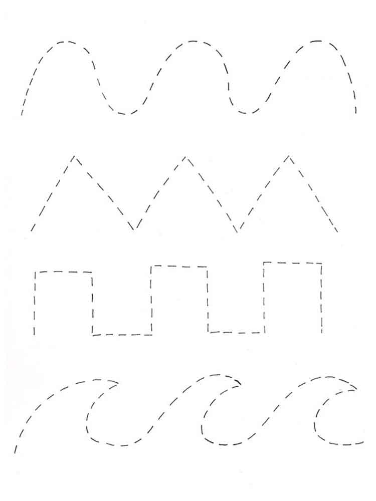 Tracing Coloring Pages Free Printable Tracing Coloring Pages