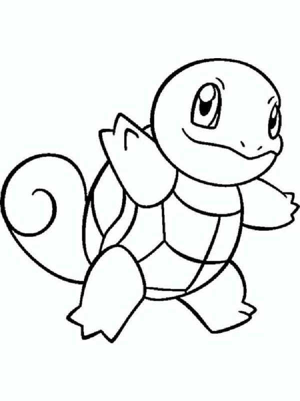 squirtle coloring pages # 13