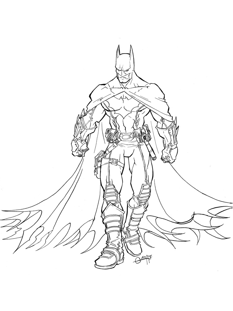 Batman And Robin Coloring Pages Free Printable Batman And Robin Coloring Pages