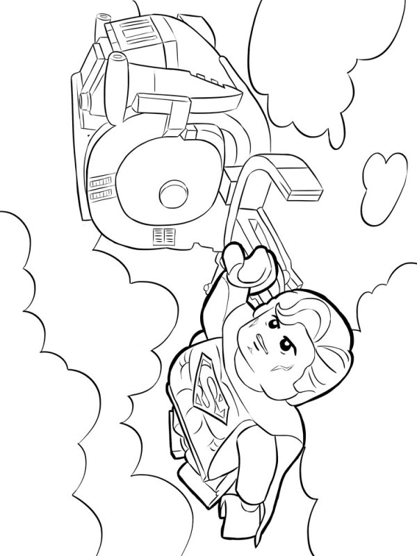 lego superman coloring pages # 71