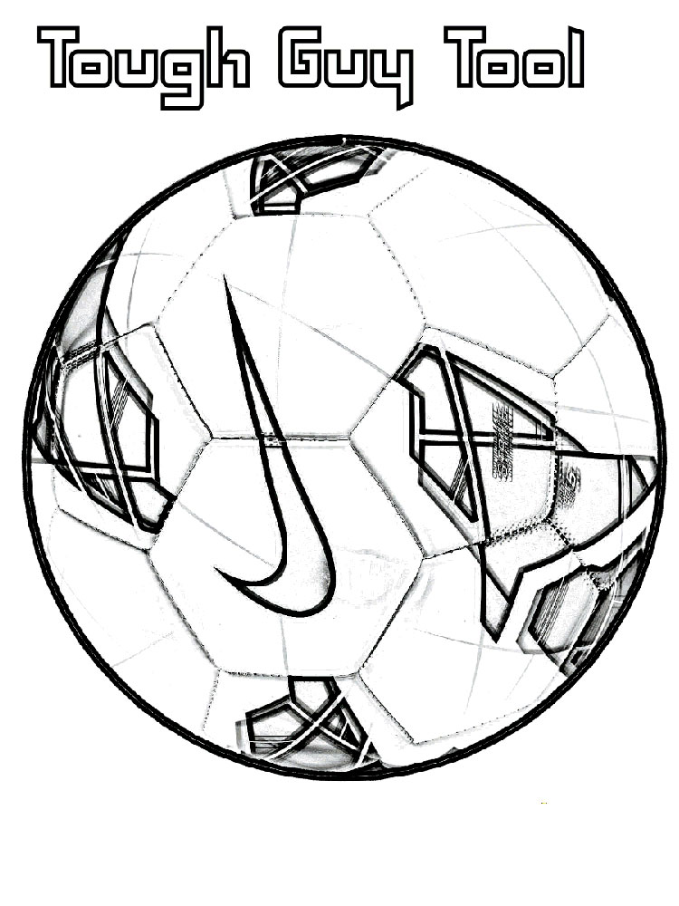 Soccer Ball Coloring Pages Free Printable Soccer Ball Coloring Pages