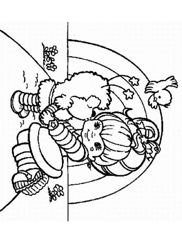 Rainbow Brite Coloring Pages Free Printable Rainbow Brite Coloring Pages