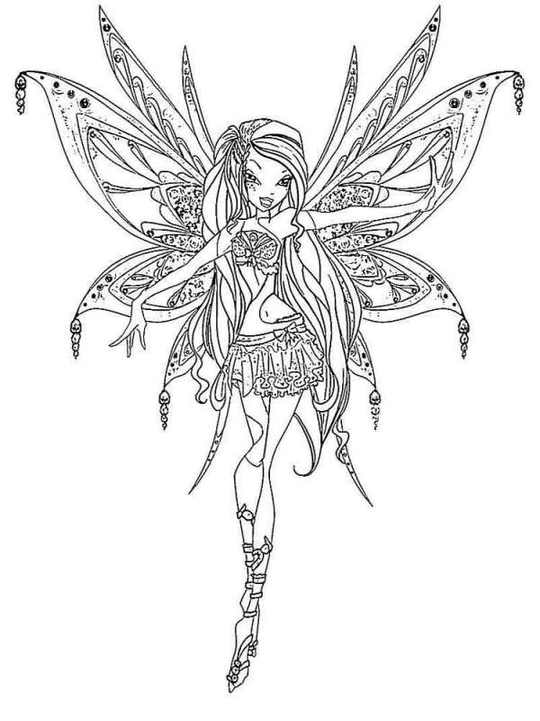 Winx club coloring pages. Download and print Winx club ...
