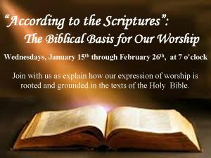 According to Scriptures Advert