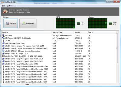 DUMo Driver Update Monitor