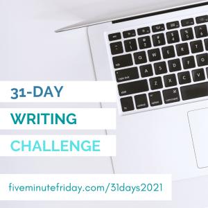 FMF 31-Day Writing Challenge 2021
