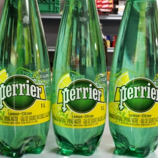 ( L ) Perrier Carbonated Water