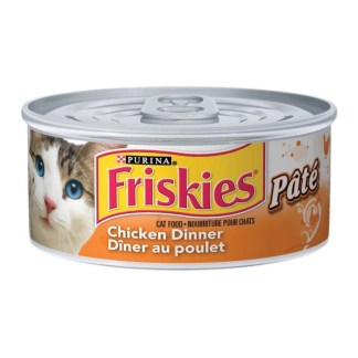 Purina Friskies Cat Food Chiken Dinner