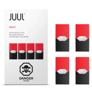 JUUL FRUIT Pods – Pack of 4