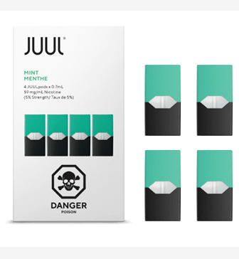 JUUL MINT Pods – Pack of 4