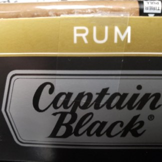 Captain Black Tipped Cigars – Rum