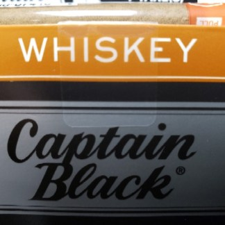 Captain Black Tipped Cigars – Whiskey