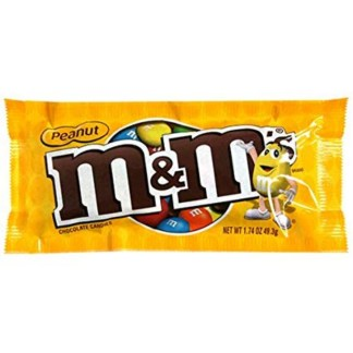 M&M's Peanut Chocolate Candy 49 Gram