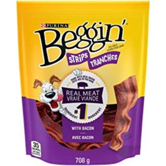 Purina Beggin Strip Tranches Dog Snack 100 Gram