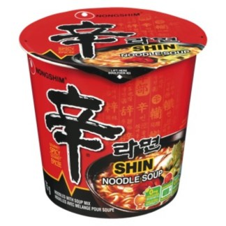 Nongshim Noodle With Soup Mix Cup 75 Gram