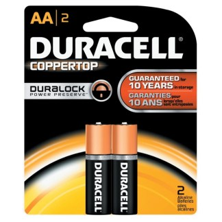 Duracell Battery AA 2 Pack