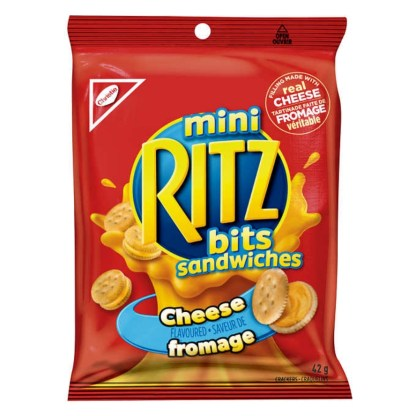 Mini Ritz Bits Sandwiches Cheese Flavoured