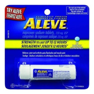 Aleve 10 Tablets In Tube