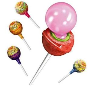 Chupa Chups XXL Trio 3 In 1 Bubble Gum Filled Pop 29 g