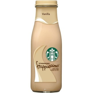 Starbucks Frappuccino Vanilla Coffee Drink 405ml